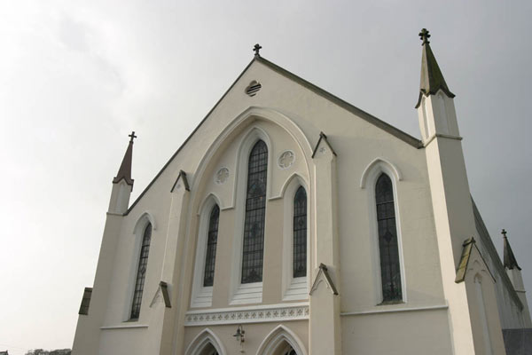 View of church front